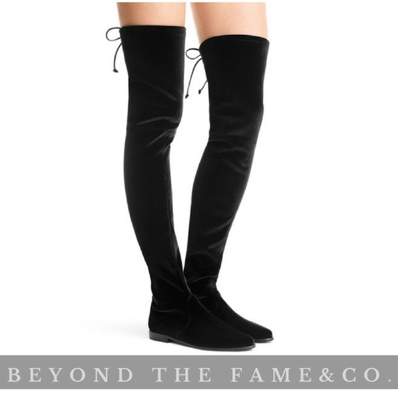 12047afc7b0 STUART WEITZMAN Leggy Lady Over The Knee Boots